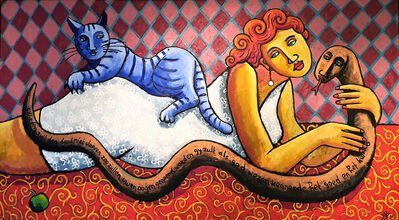 Jacques Tange, 'Eve's pets', 2015