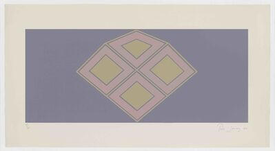 Tess Jaray RA, 'Haven', 1966