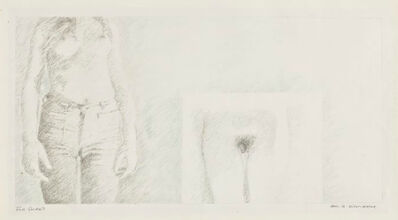 Martin Kippenberger, 'Untitled (female nude)', 1974