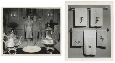 Murray Moss, 'TQ 87/88: Duke and Duchess of Windsor/Plastic Monograms', 1940/1954