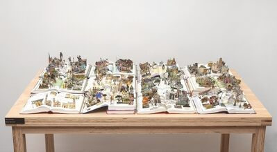 Daniel Escobar, 'Books from the series The World', 2011
