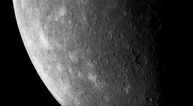 Michael Benson, 'Day to Night on Mercury, Mariner 10, 29 March 1974', 2015