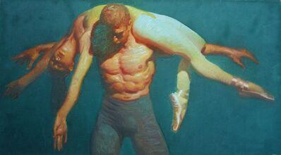 John Asaro, 'Balance Over the Shoulder', 2020