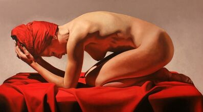 Toby Boothman, 'Girl On Red'
