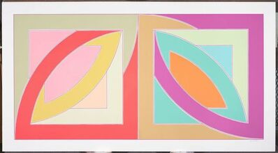 Frank Stella, 'Bonne Bay from the Newfoundland Series', 1971
