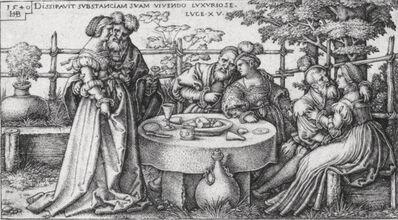 Hans Sebald Beham, 'The Parable of the Prodigal Son', ca. 1540