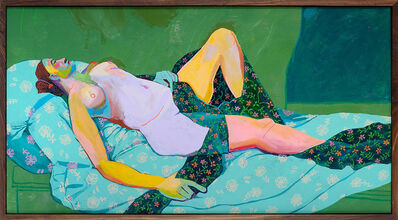 Andy Dixon, 'Green Nude', 2014