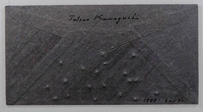 Tatsuo Kawaguchi, 'Relation - Lead Envelope / Lavender', 1988