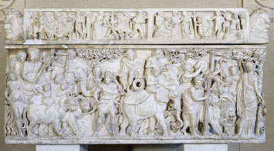 'Sarcophagus with the Triumph of Dionysus', ca. 190