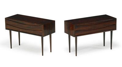 Arne Vodder, 'Pair of nightstands, Denmark', 1950s