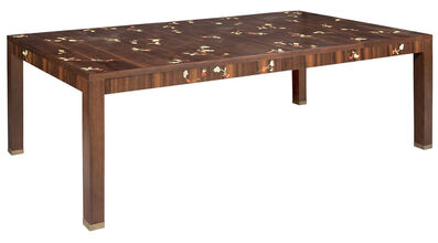 Louis Cane, 'Inlaid Fruitwood Extension Dining Table', 2000