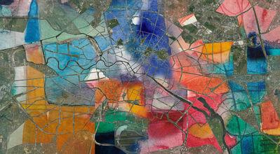 Sonia Gil, 'URBAN CALLIGRAPHY, Berlin Map', 2016
