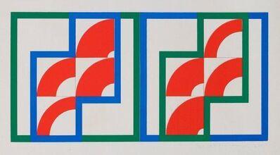 Gordon House, 'Eight Red Arcs [Baro 6]', 1964