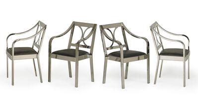 Karl Springer, 'Set of four Regency armchairs, New York', 1980s