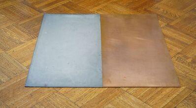 Carl Andre, 'Magnesium-Copper Dipole (E/W)', 1978
