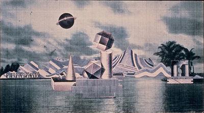 Miriam Wosk, 'Metaphysical Landscape', 1992
