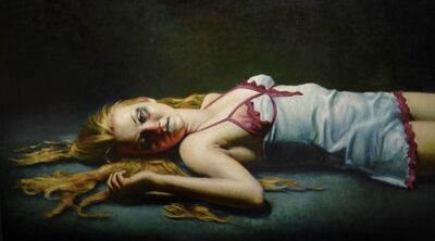 Rose Freymuth-Frazier, 'Girl Resting', 2009