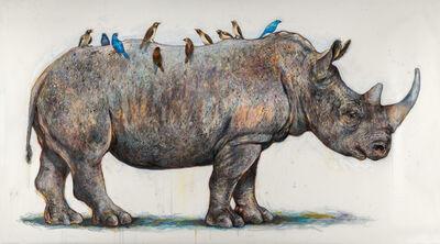 Elli Crocker, 'White Rhino', 2016