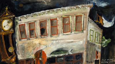 James Martin, 'Top Floor of the Deli', 1986
