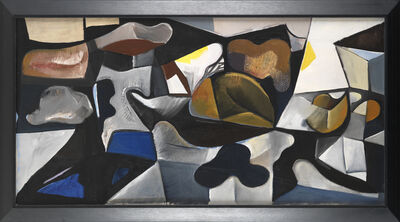 Caziel, 'Composition with Organic Forms', ca. 1950