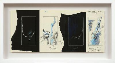 Yechel Gagnon, 'Étude I (Silk & Courants Telluriques)', 2017