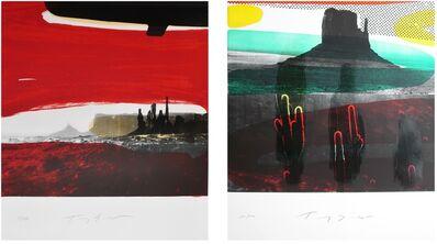 Tony Soulié, 'Special offer : two original  lithographs handsigned by Tony Soulié', 2015