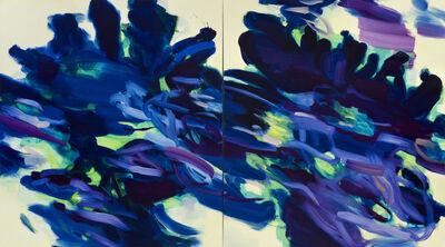 Rebecca Meanley, 'Unfurling (Delft Blue)', 2018