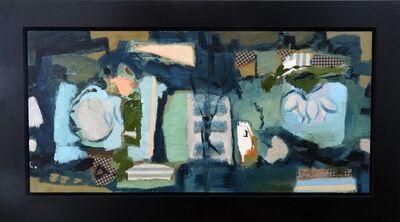 Jennifer Hornyak, 'Diptych in Blue and Green', 2014