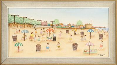 Vestie Davis, 'Untitled (Coney Island Beach Scene)', 1963