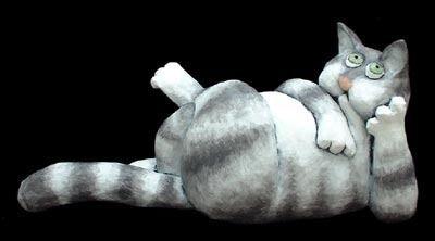 Stephen Hansen, 'Bored Cat'