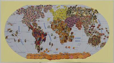 Nelson Leirner, '4 oceans', 2014