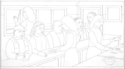 Andrew Stevovich, 'Jessie's Diner, Drawing 33', 2016