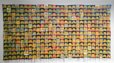 Margarita Cabrera, 'Multi-Color VOCHO VW Beetle Sedan Quilt #3', 2004