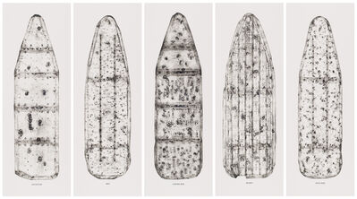 Willie Cole, 'Five Beauties Rising', 2012