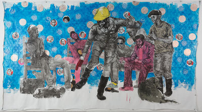 Bambo Sibiya, 'Freedom Did Not Come, It Was Invited', 2017