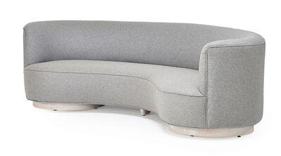 Vladimir Kagan, 'Curved sofa, New York', 1950s