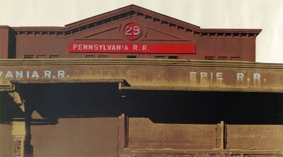 Gerd Winner, 'Pennsylvania R.R. (Blume 61)', 1973