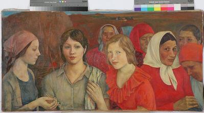 L.N. Kirillova, 'Girls of the village Chernoe', 1974