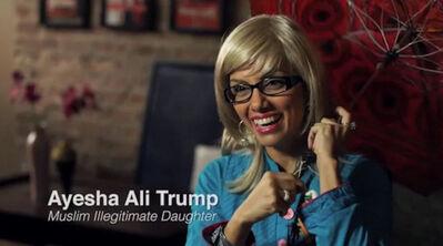 Fawzia Mirza, 'The Muslim Trump', 2016