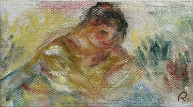 Pierre-Auguste Renoir, 'Buste de femme - fragment', 1916