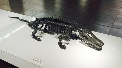 Kunihiro Akinaga, 'Mimicry-crocodile   ', 2015