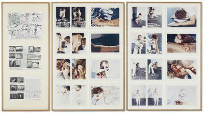 Gina Pane, 'Action mélancolique 2x2x2', 1974