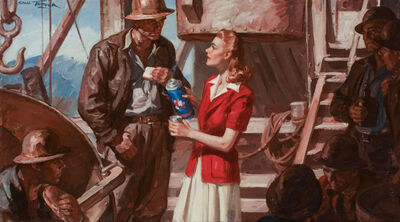 Saul Tepper, 'Speak Only With Your Heart, McCall's Illustration', 1942