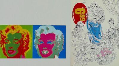 Andy Warhol, 'A Memorial Mass & A Memorial Lunch', 1987