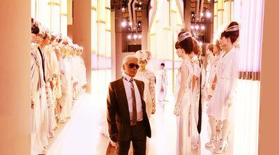 Simon Procter, 'CHANEL, Karl and Brides, Haute Couture 2010, Rue Cambon, Paris'