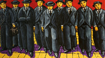 Jacques Tange, 'Banksters', 2012