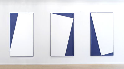 Disa Rytt, 'Solid nor Void I (triptych)', 2020