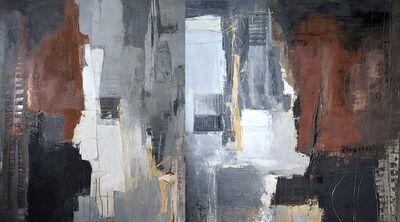 Adalgiza Vaz, 'Fragments II (Diptico)', 2021