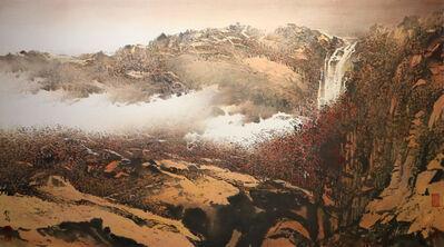 Koo Mei 顧媚, 'Autumn Red Cliff 秋崖紅樹', 2016