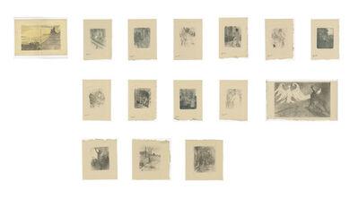 Henri de Toulouse-Lautrec, 'Lautrec Book:   From Au Pied du Sinai written by Georges Clemenceau, Deluxe Ed: 17/25', 1897